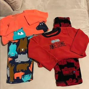 Fleece pajamas - 2 pairs
